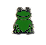 Frog - Enamel Charm